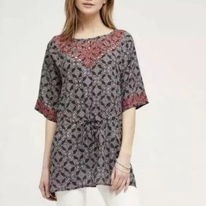 Anthropologie One September  Euphemia Top Sz Small